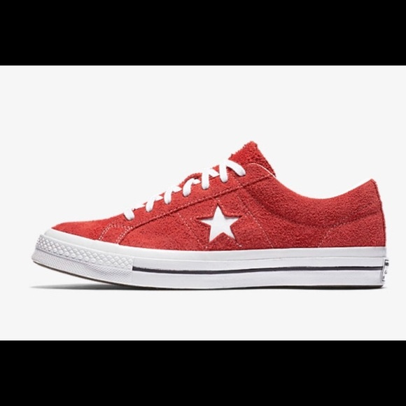 f49f9a1e276ed3 Converse One Star Premium Suede Low Top